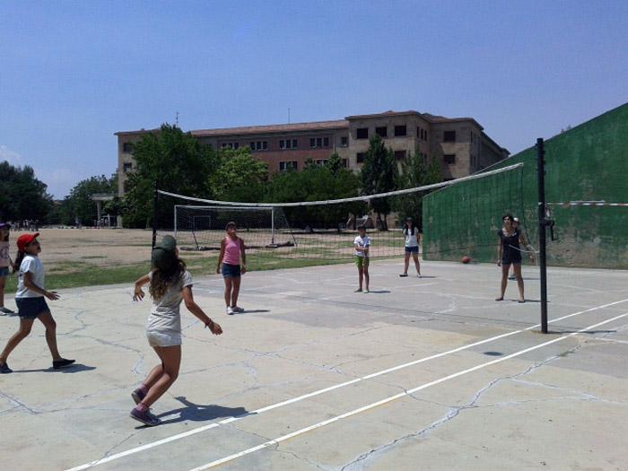 Deportes frontón campamento Salamanca