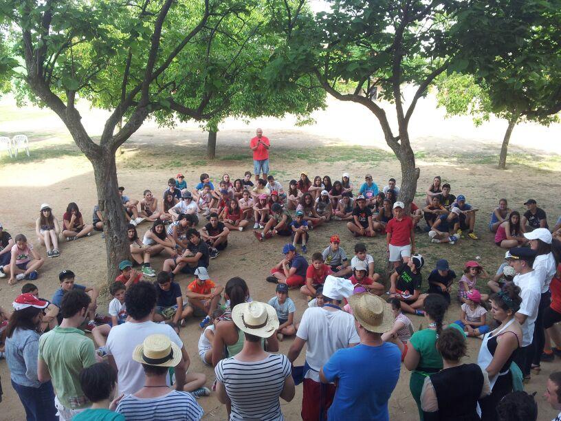 Campamento de verano inglés francés en Salamanca 2013