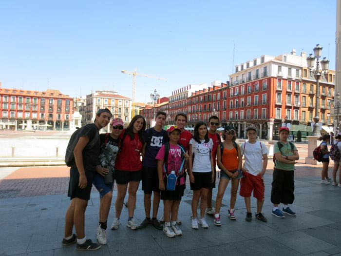 Visita a Valladolid en el campamento de julio