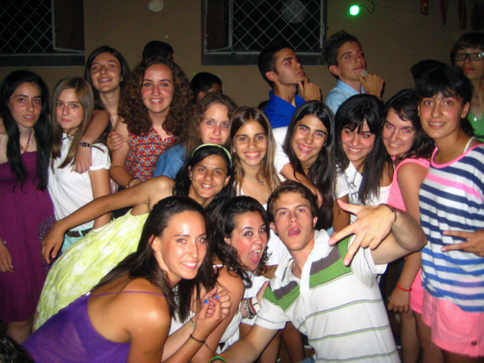 Fiesta de despedida campamento Salamanca