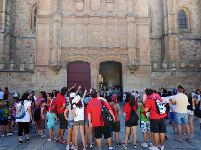 Visita a Salamanca en campamento de verano