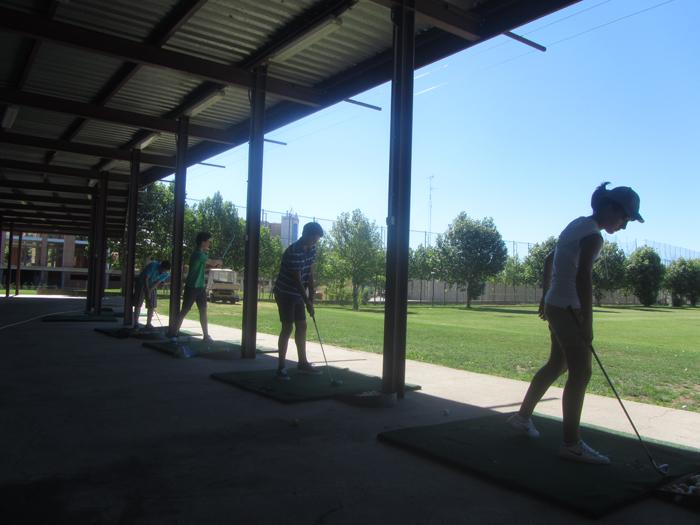 Golf campamentos de verano