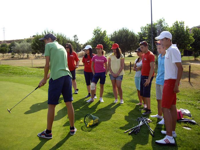 Golf curso intensivo inglés verano