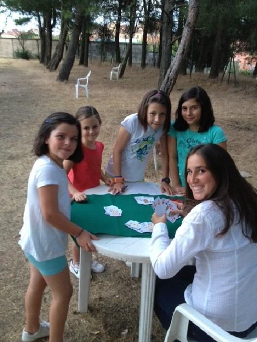 Gran juego del Casino en el campamento de Salamanca