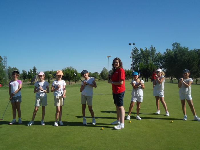 Golf campamento salamanca