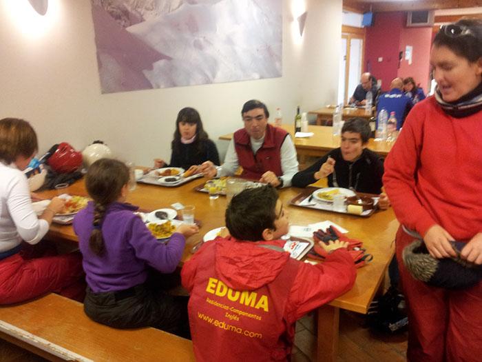 Curso de ski Reyes Astún 2014. Esquí en familia
