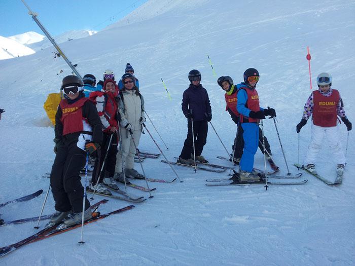 Curso de ski Reyes Astún 2014. Clases de esquí-