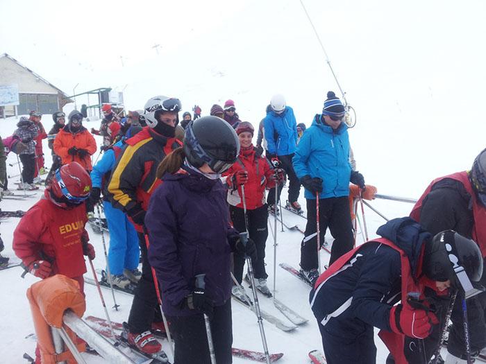 Curso de ski Reyes Astún 2014. Esquí para todas las edades