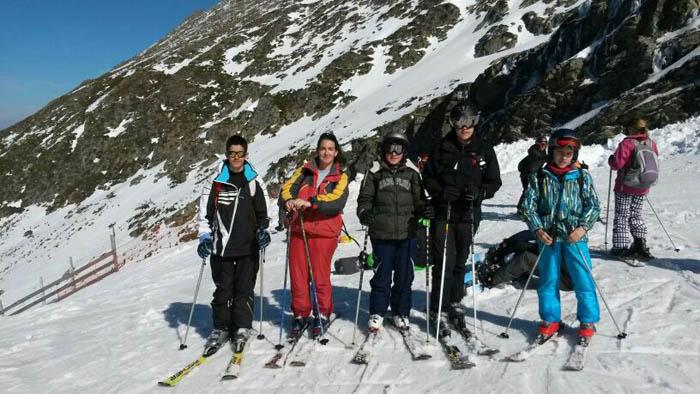 Cursillo ski sábados 2014. Clases de esquí en La Pinilla