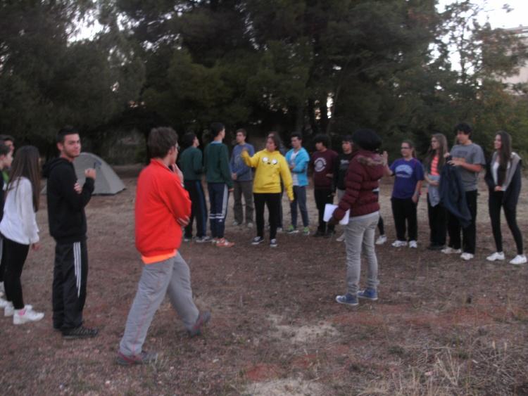 Acampada en campamentos de verano Salamanca