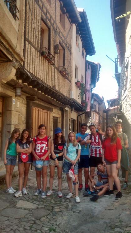 Visita a la Alberca en el curso intensivo de inglés