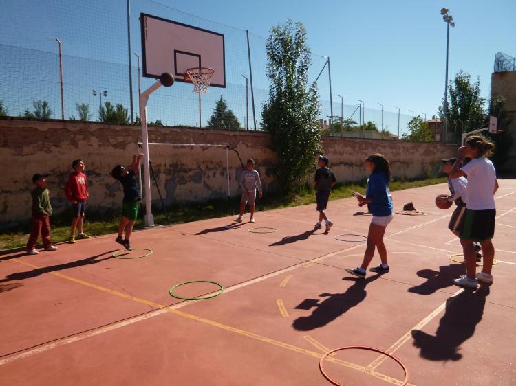 Pruebas y deportes de campamentos de verano