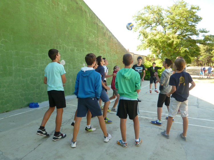 Pruebas y deportes en Salamanca. Curso intensivo de inglés