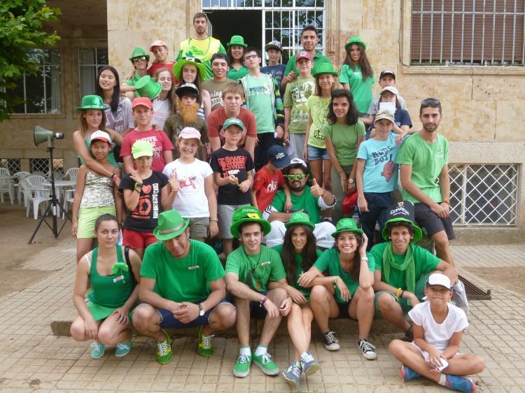Dia tematico Irlanda en campamento Salamanca 2014