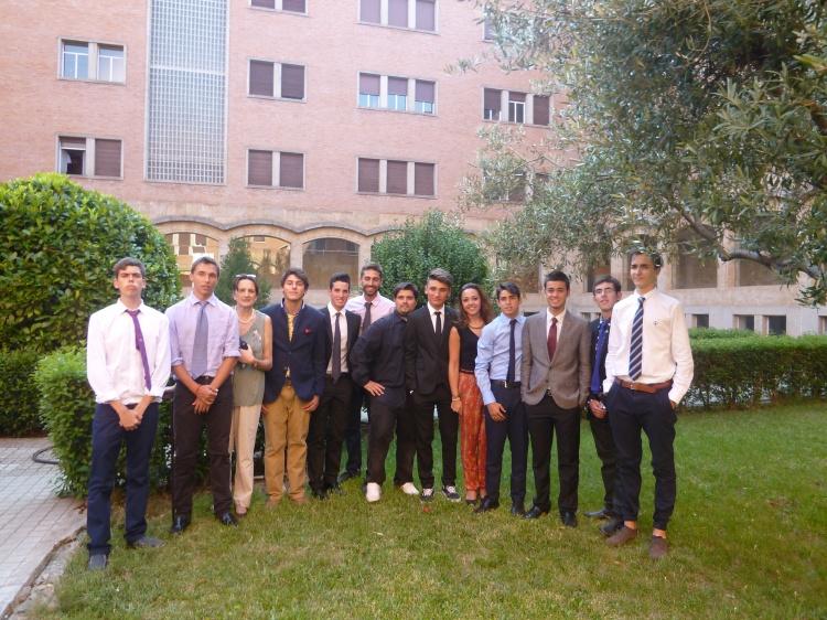 Grupos de niños del curso intensivo de ingles en Salamanca