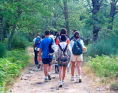 Excursiones del campamento de verano con inglés o francés en Salamanca. Para niños en Julio.