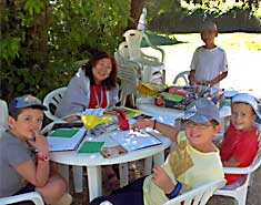 Campamentos de verano con inglés en Segovia, Riaza, España. Clases