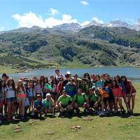 Campamento de verano multiaventura en Asturias.