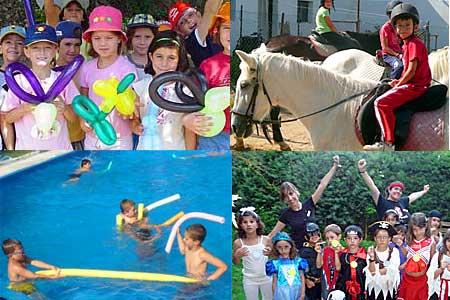 campamentos de verano para niños pequeños en julio