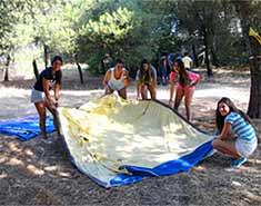 Acampada en el curso de inglés verano en Salamanca. Campamento de verano con inglés intensivo España