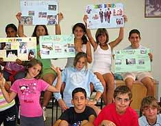 Tipos de campamentos. Campamento de verano con inglés o francés en España