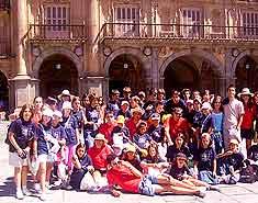 Visita a Salamanca. Residencia con actividades para niños en Julio. Francés e inglés.