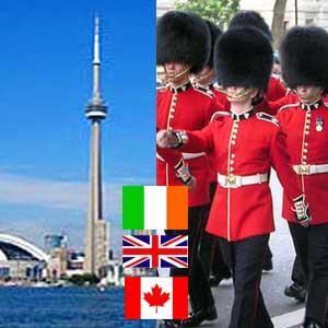 Cursos de inglés y francés en España, Irlanda, Inglaterra y Canadá.