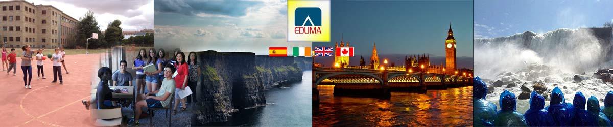 cursos de inglés de verano en España, Inglaterra, Irlanda y Canadá. Aprender inglés.