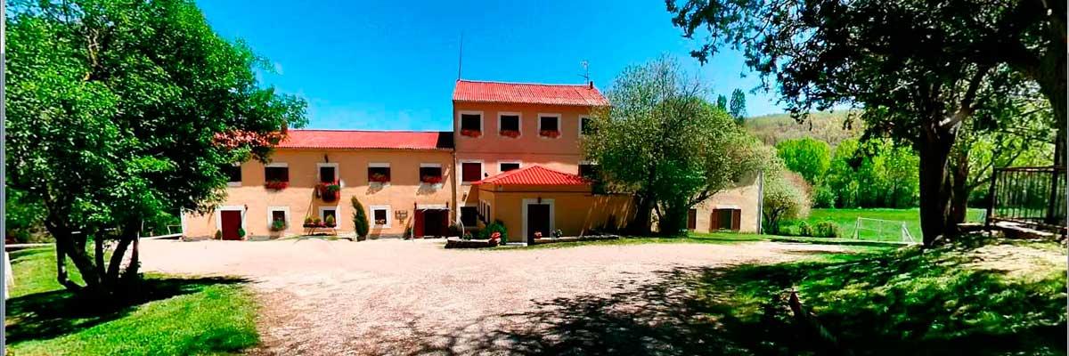 Campamento de verano con ingles La Casona del Prado en Segovia, Riaza.
