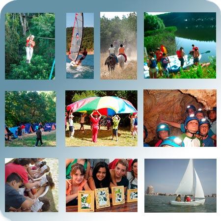 Julio y agosto. Calidad recomendados y de confianza. Campamentos de verano con inglés en Salamanca, toledo, Asturias y La Manga