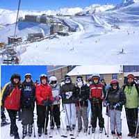 Curso de esquí en la semana de Reyes en Boi-Taull para niños y familias. Ski
