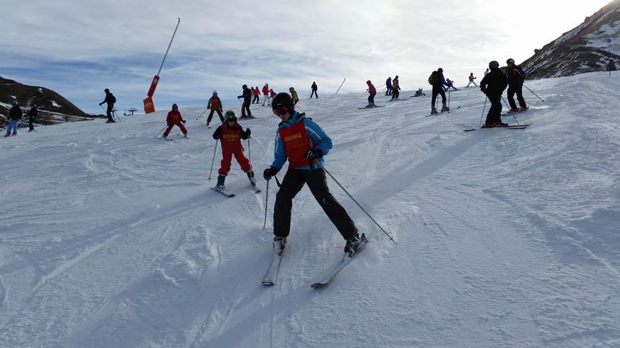 Curso de ski en Formigal, Reyes 2015. Esquí para todas las edades