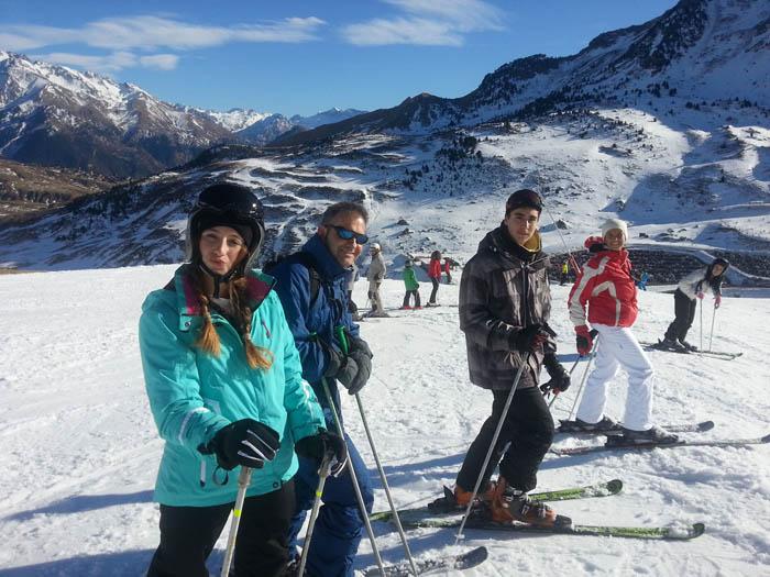 Curso de esquí en Formigal, Reyes 2015. Ski en familia