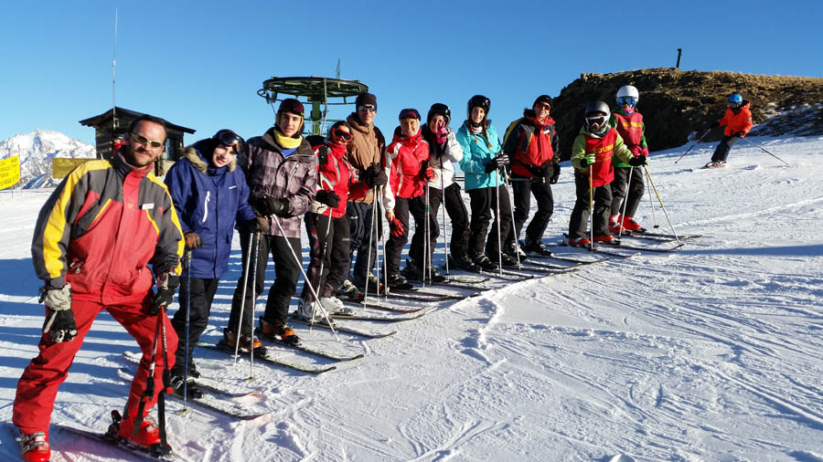 Curso de esquí en Formigal, Reyes 2015. Clases de Ski juvenil