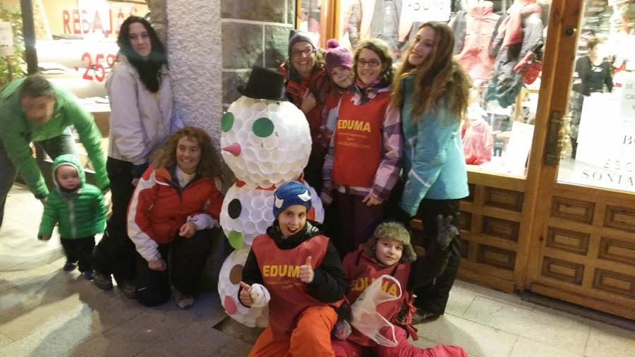 Curso de ski en Formigal, Reyes 2015. Excursión después de esquiar: Sabiñanigo