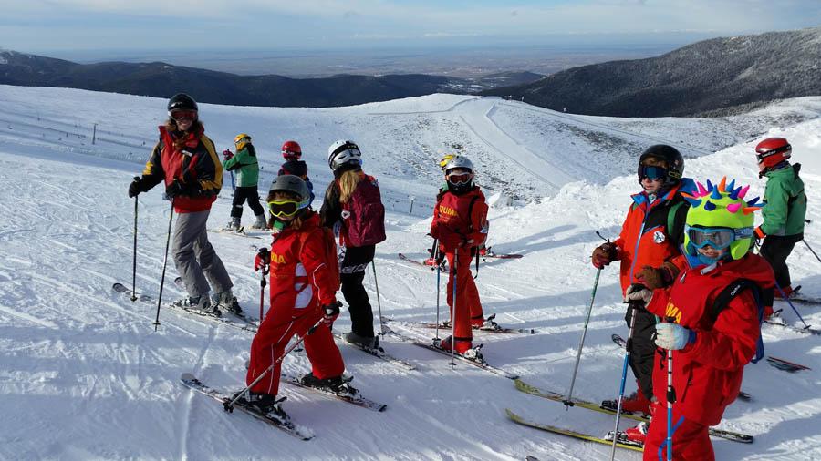 Curso ski sábados 2015. Clases de esquí grupo Irene