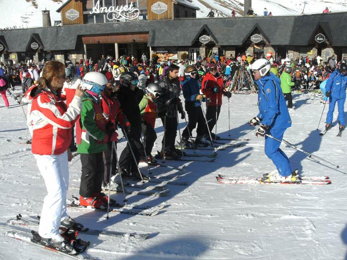 Reyes 2015. Clases de ski todas las edades