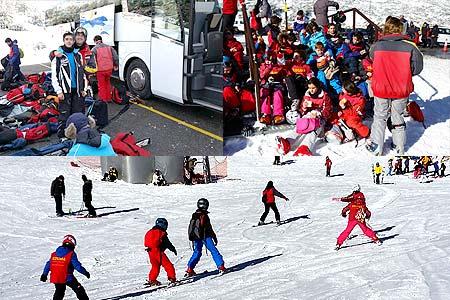 Curso de esqui sabados en la pinilla o Valdesqui. ski en Madrid.