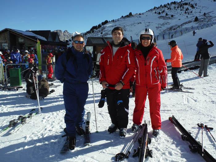 Cursillo de ski en Formigal, Reyes 2015. Esquí libre