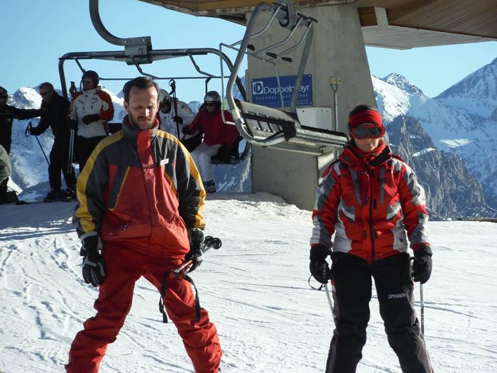 Curso de ski en Formigal, Reyes 2015. En Pistas