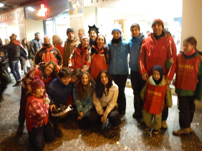 Curso de ski en Formigal, Reyes 2015. Organización 24 horas.