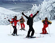 esqui la pinilla valdesqui curso