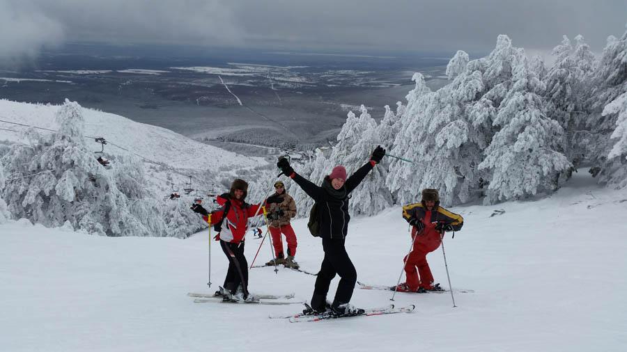 Curso ski sábados 2015. Clases de esquí para familias.