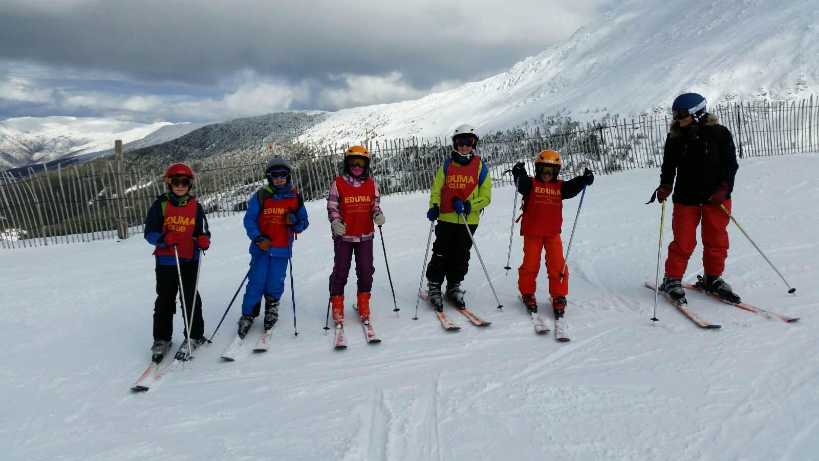 Vacaciones Escolares 2015. Curso de ski. Esquí infantil, juvenil y adultos.