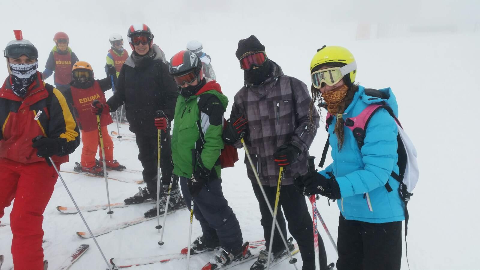 Vacaciones Escolares 2015. Cursos de ski. Clases de esquí jovenes