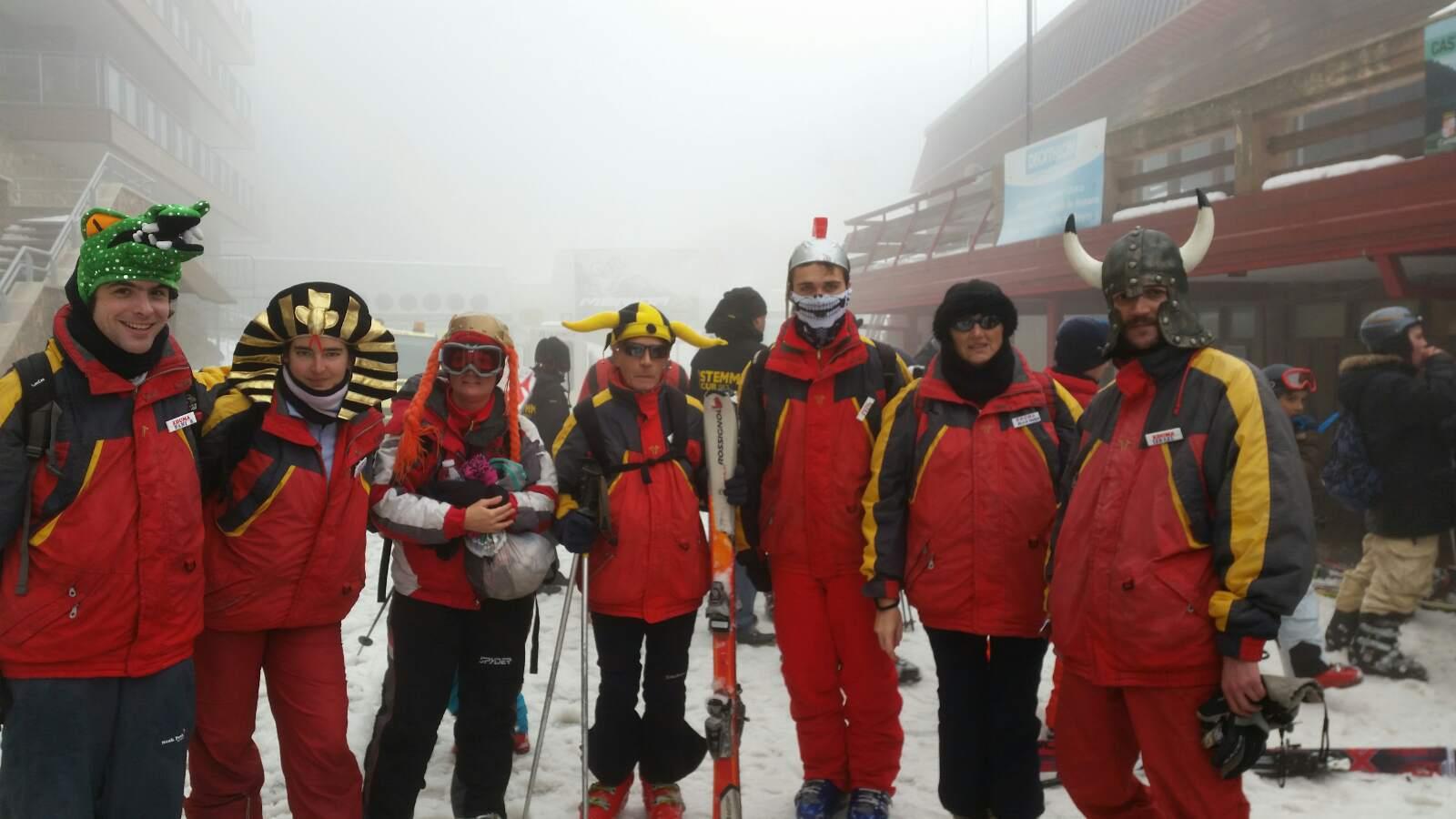 Vacaciones Escolares 2015. Cursos de ski. Viaje de esquí organizado.