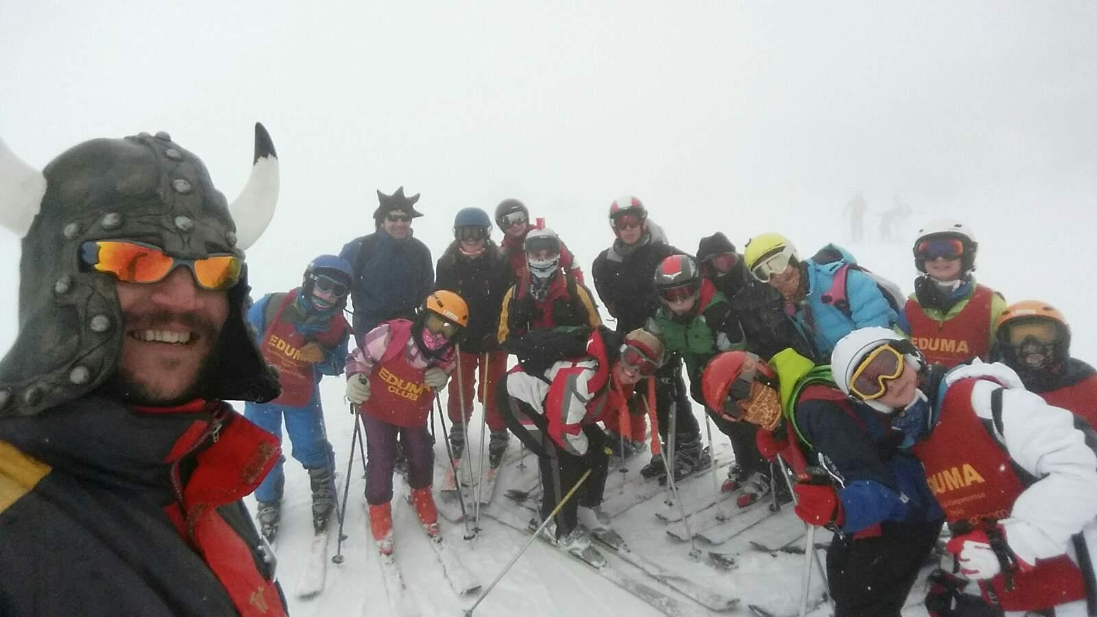 Vacaciones Escolares 2015. Cursos de ski. Esquí para toda la familia