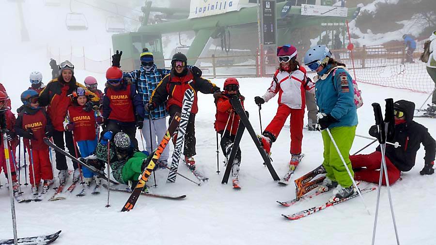 Curso ski sábados 2015. Diversión en la nieve
