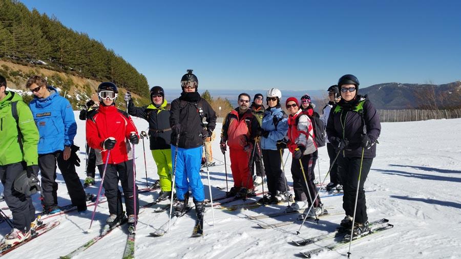 Curso ski sábados 2015. Clases de esquí para adultos en la estación La Pinilla