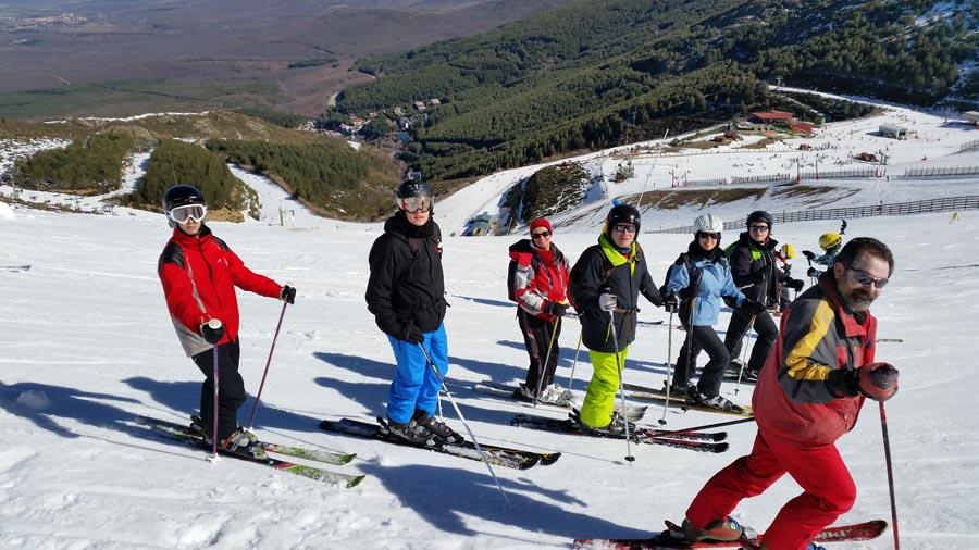 Curso ski sábados 2015. Esquí adultos
